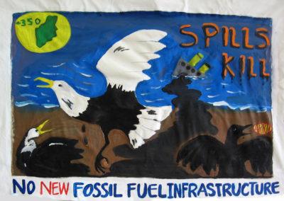 350, spills kill