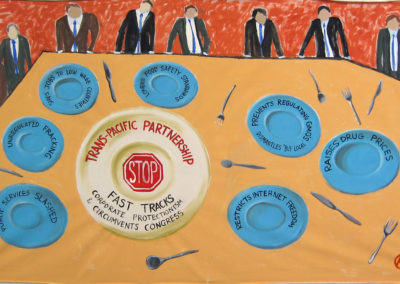ARRT! trans-pacific partnership table