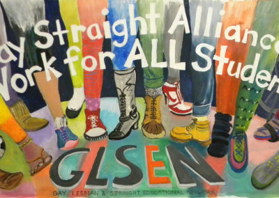 GLSEN, GAY AND STRAIGHT ALLIANCE