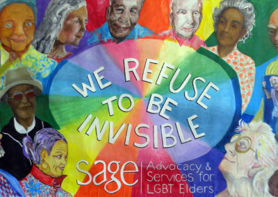 SAGE we refuse to be invisible