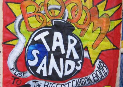 Tarsands Carbon Bomb crop