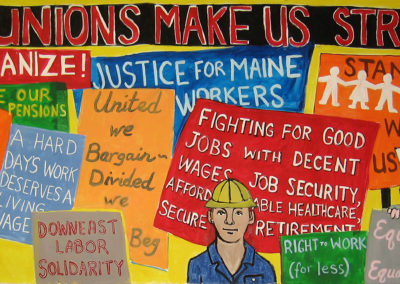 Unions make us strong, ARRT!