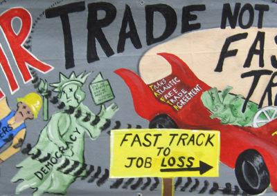 arrt! fair trade not fast track copy