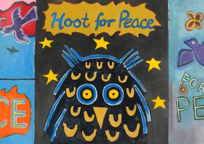 brunswick peace vigil, sing,hoot,cheer for peace