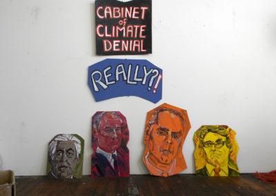 cabinet of climate denial, tillerson, ryan, pruitt, zinke
