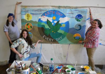 earth day with UMO students