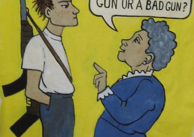 is that a good gun or a bad gun. ban assault weapons