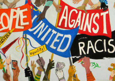 people united against racism