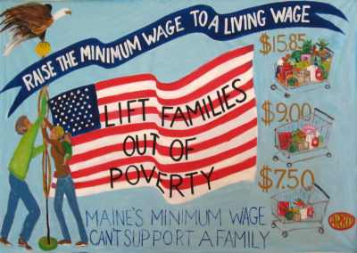 raise the minimum wage to a living wage