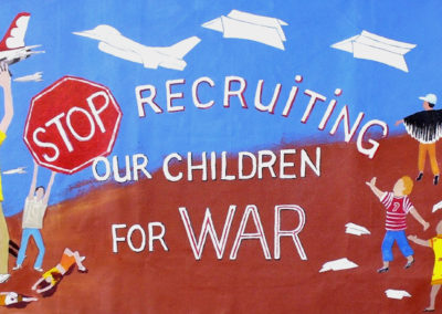 stop recruiting our children for war