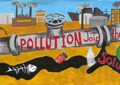 stop the pollution join the solution