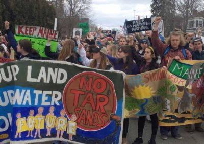 student climate march '15 CU