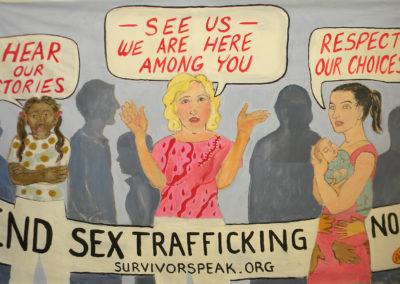 survivorspeak, trafficking