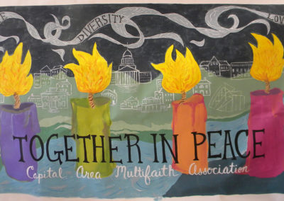 together in peace
