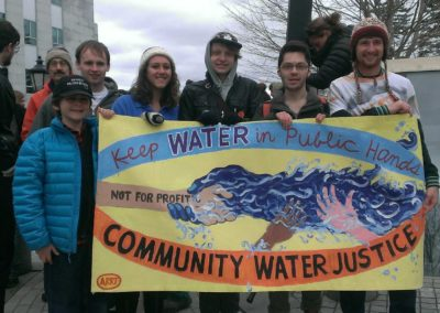 water justice at state house 4-2015