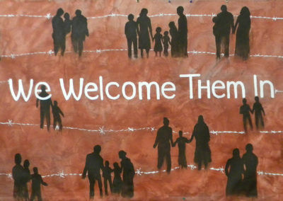 we welcome them in